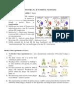 Short Notes Semester VI