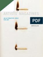 [Gwen Allen] Artists' Magazines an Alternative Space