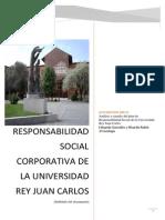 Responsabilidad Social Corporativa de La URJC
