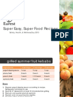 Superfoods Recipes