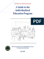 adhd add individualized education program guide