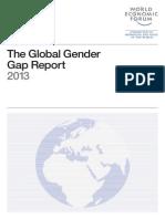 WEF Global GenderGap Report 2013