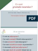 Subprograme Recursive 10