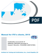 ITC- Manual for Conformity Assessment