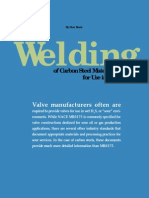 Welding of CS Materials for Use in Sour Service