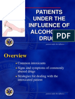 20 - Patients Under the Influence