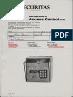 Ansettelsesforhold Securitas AS 1985 - 1990