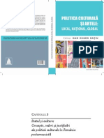 RATIU D E Statul Si Cultura Politica Culturala in Romania Postcomunista 2011