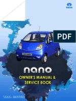 Tata Nano Owner's Manual