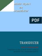 transduer(s.k)