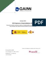 2014-ICO Empresas y Emprendedores, GAINN