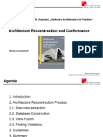 SoftwareReconstruction - Chapter 20  - Software Architecture in Practice