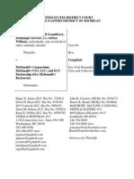 Complaint -- Errol Service 3-12-14 Final