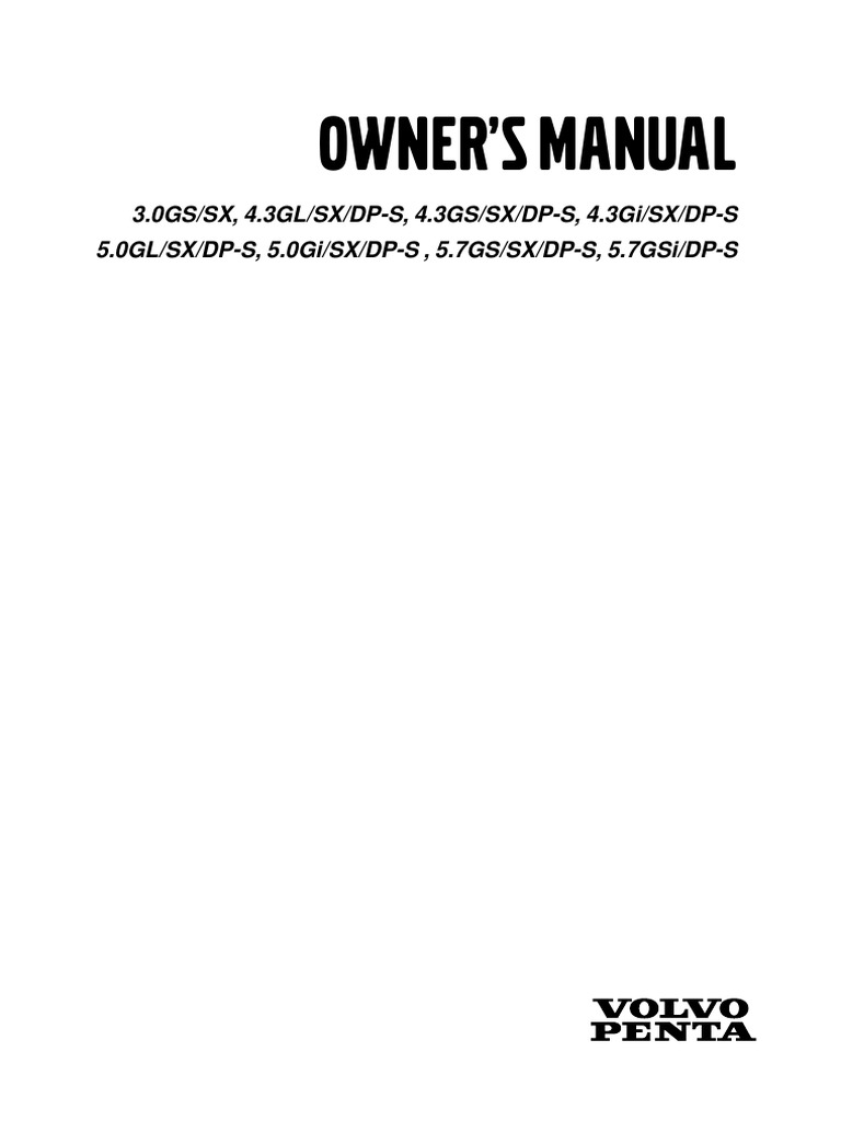Volvo penta marine engine owners manual carburetor throttle freerunsca Choice Image