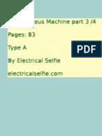 Synchronous Machine notes part 3
