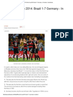 FIFA World Cup 2014_ Brazil 1-7 Germany – in Numbers _ Sportskeeda