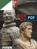 Archéo Théma n° 19 - Chine Rome