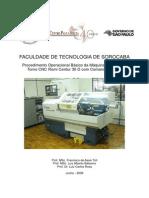Procedimento Torno CNC - Mach 9