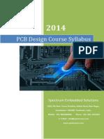 PCB Design Course Syllabus