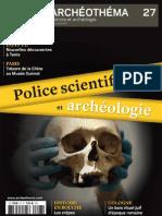Archéo Théma n° 27 - Police