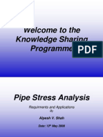 Pipe Stress Analysis