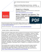 2001 Freund - Bodies, Disability and Spaces(1)