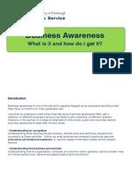 Business Awareness 2014l