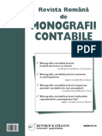 Pagini Din Revista Romana de Monografii Contabile