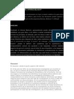 Análisis Crítico Del Informe Belmont