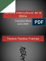 Lectura Intercultural de La Biblia