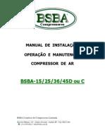 Manual Tecnico Bsba-15-25 e 36d - Bsba Compressores