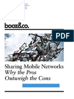 Strategyand Sharing Mobile Networks