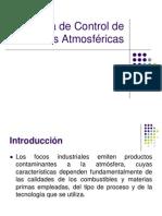 Control de Emisiones Atmosféricas