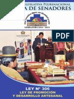 Ley de Promoción y Desarrollo Artesanal - Camara de Senadores