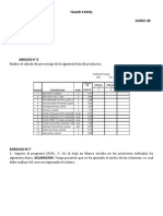 Taller 3 Excel