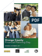 Program for Orange County (California) Financial Planning Day, 8 October 2011