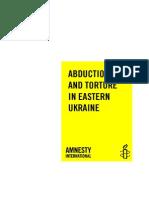 Amnesty International Ukraine Report