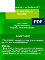 4 Vocabulary and Reading Reading