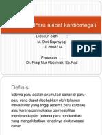 229363908 Ppt Radiologi Edema Paru Gembel Ppt