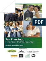 Program for San Francisco Financial Planning Day, 22 October 2011