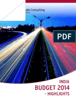 India Budget 2014-Highlights (1)