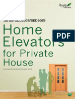 Home Elevator for Private House