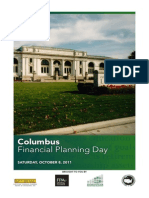 Program for Columbus (Ohio) Financial Planning Day, 8 October 2011