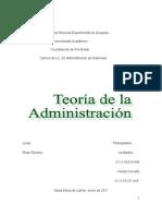 Teorias Basicas de La Administracion