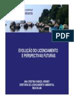 Inea - Evolução Do Licenciamento e Perspectivas Futuras