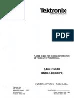 TEK 5440 Instruction