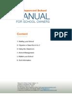 School Owner Manual Vers 1_0 _ Supercool School