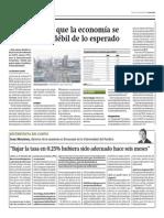 BCR Reconoce Que Economía Se Muestra Más Débil de Lo Esperado_Gestión 11-07-2014