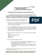 Orientacao Para Entrega de Teses e Dissertacoes2