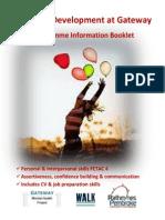 Personal Development FETAC 4 Course Information 2014
